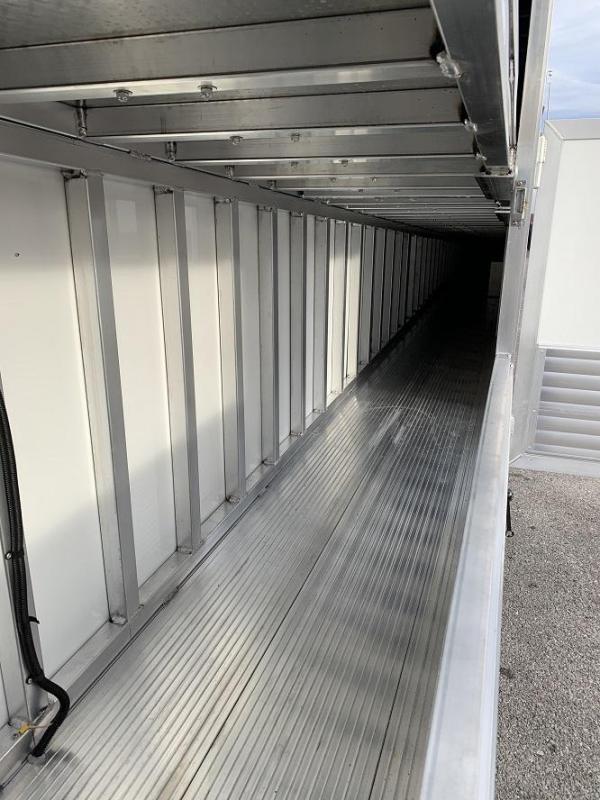 2021 Sundowner 52' Aluminum Enclosed 3 Car Enclosed  Trailer