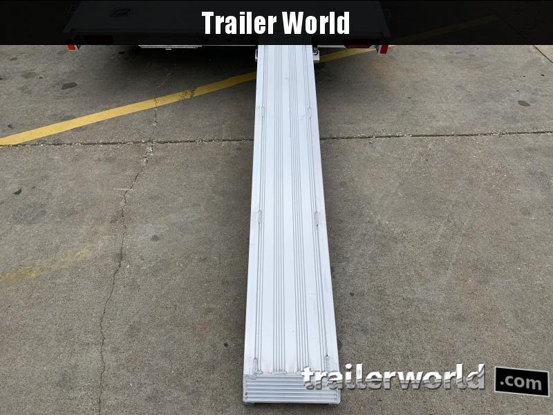 2022 Aluma 8216 Anniversary Edition Aluminum Open Car Hauler Trailer 10k GVWR