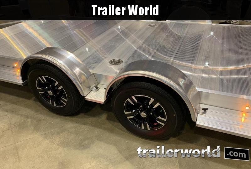 2022 Aluma Executive Series 8222H XL 22 Aluminum Open Car Trailer