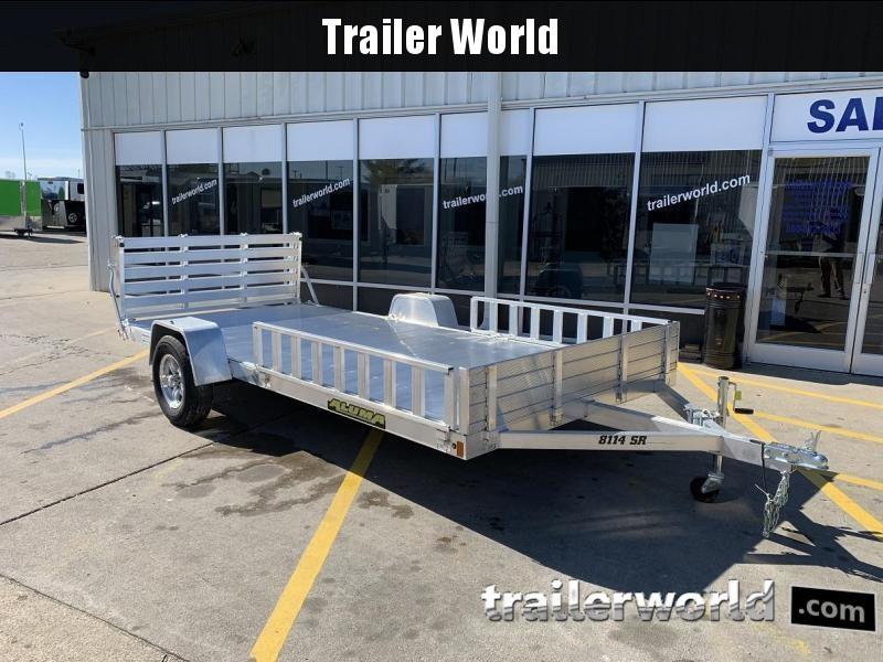 2022 Aluma 8114SR 14' Aluminum Utility ATV Trailer