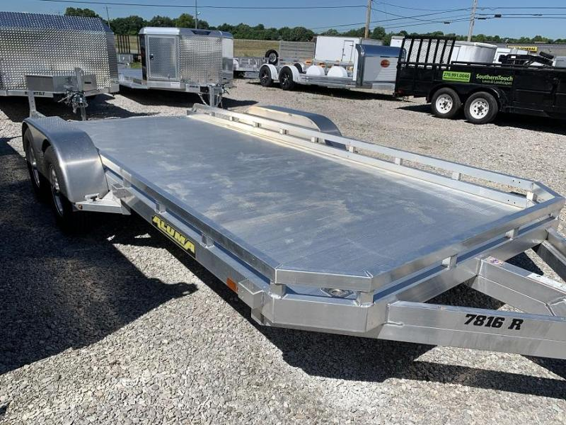 "2020 Aluma 78"" x 16'  Aluminum Open Car Hauler Trailer"