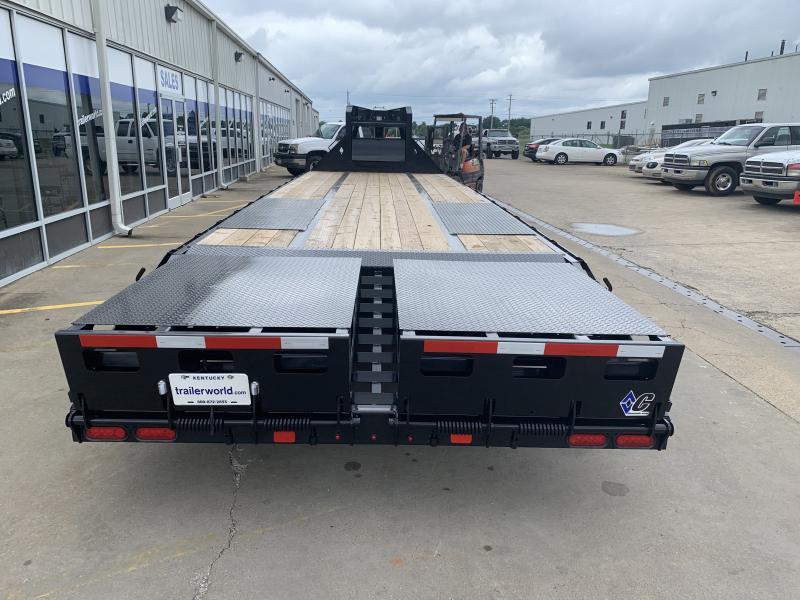 2021 Diamond C FMAX210 30' 25+5 Flatbed Gooseneck Trailer 25k GVWR