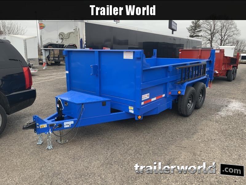 2022 Quality Steel 14 Dump Trailer 14K GVWR