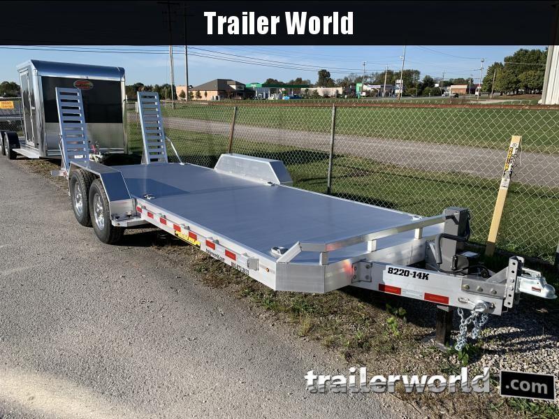 2021 Aluma 8220-14k Equipment Trailer W/Ramps