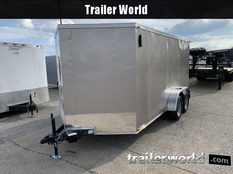 2022 76123 7 x 14'TA Enclosed Cargo Trailer