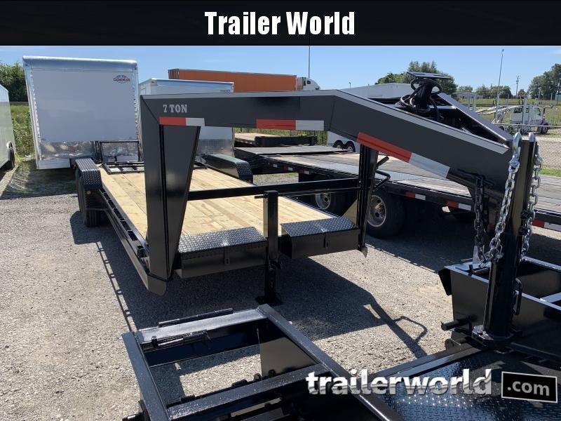 2020 Better Built 22 Gooseneck Equipment Trailer 14k GVWR