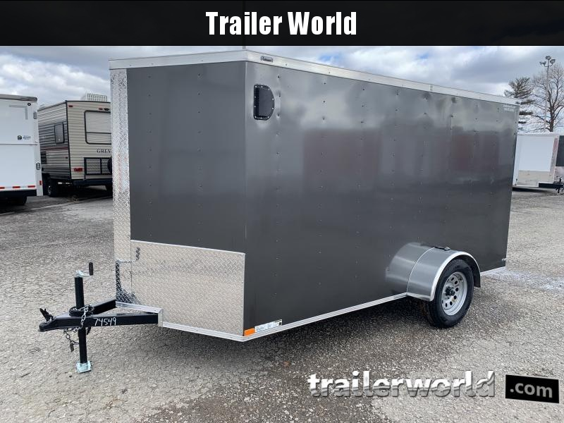 2021 Lark 6X12'SA Enclosed Cargo Trailer