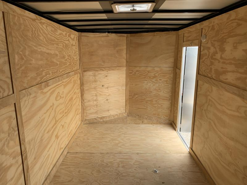 2021 27441 7 x 16'TA Enclosed Cargo Trailer