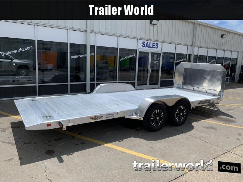 2021 Aluma 8218 Tilt Bed Open Car Hauler Trailer Anniversary Edition