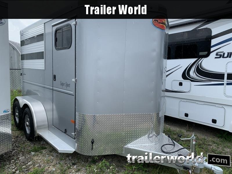 2020 Sundowner Super Sport 2 Horse Bumper Pull Trailer
