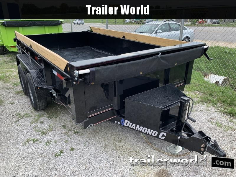 2020 Diamond C EDM 77 x 12' Dump Trailer 10k GVWR