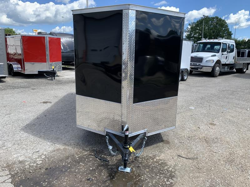 2022 Covered Wagon Trailers 6 X 12'SA Double Doors Enclosed Cargo Trailer