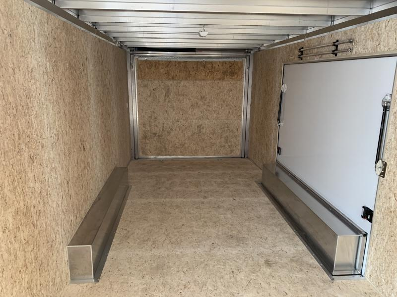 2021 Bravo Star 24' Aluminum Enclosed Car Trailer