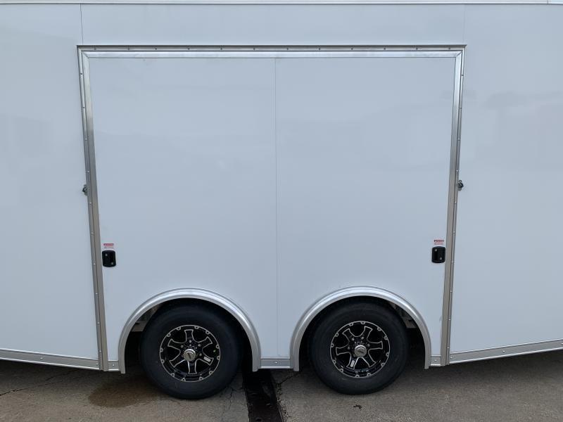 2021 Bravo Star 24' Aluminum Enclosed Car Trailer