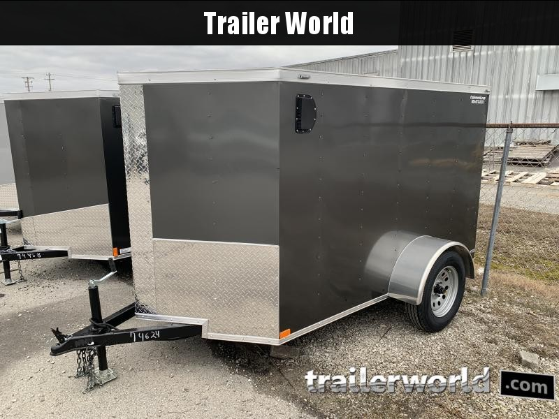 2021 Lark 5X8'SA Enclosed Cargo Trailer