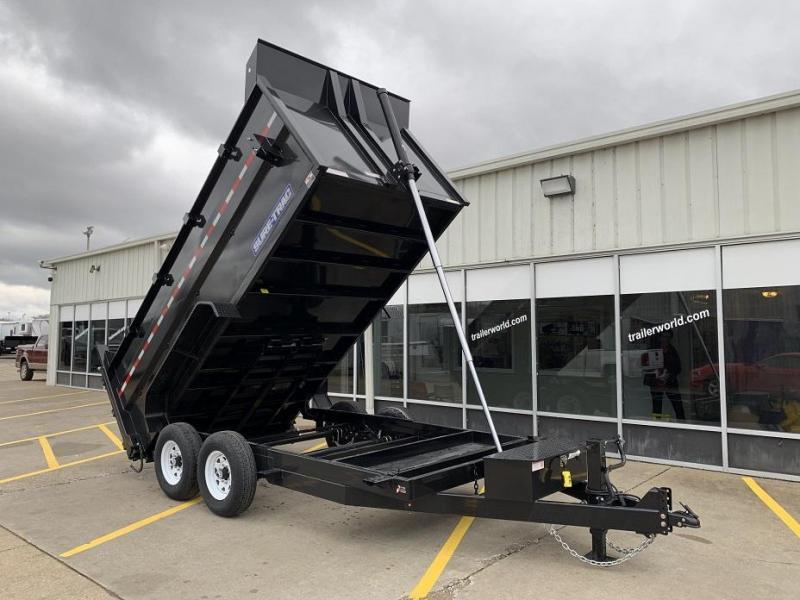 2022 Sure-Trac 14' Telescopic Dump w/ 4' Sides 14k GVWR