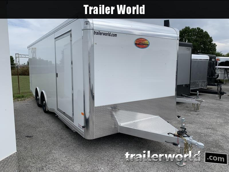 2021 Sundowner Trailers Race Lite 24 Aluminum Car / Racing Trailer