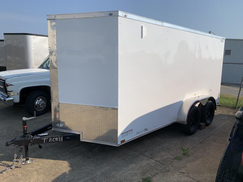 2022 27901 7 x 14'TA Enclosed Cargo Trailer