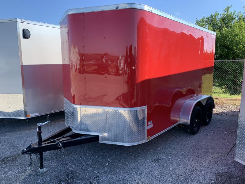 2021 25911 7 x 12'TA Enclosed Cargo Trailer