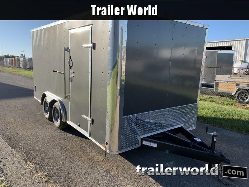 2021 Lark 8 5X16TA Conventional Nose Enclosed Cargo Trailer