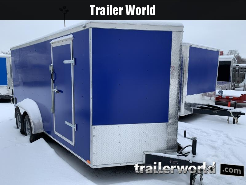 2021 Lark 7X16'TA Enclosed Cargo Trailer