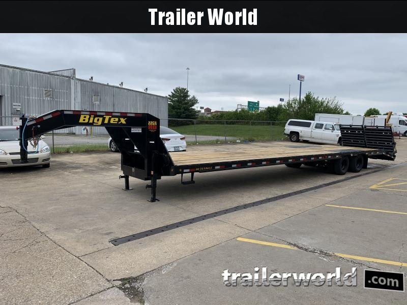 2021 Big Tex Trailers 22GN 35'+5' Equipment Trailer