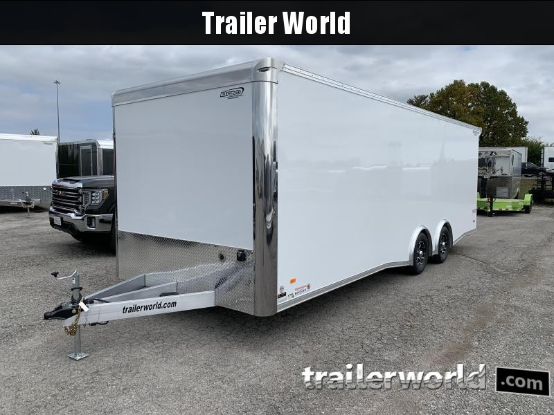 2021 Bravo Star 24' Aluminum Enclosed Car Trailer Show Car Pkg