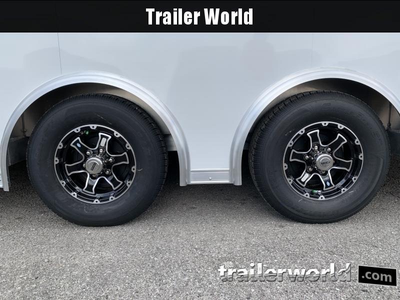 2021 Bravo Star 24' Aluminum Enclosed Car Trailer Show Car Pkg