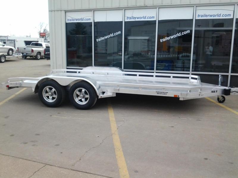 "2021 Aluma 78"" x 16'  Aluminum Open Car Hauler Trailer"