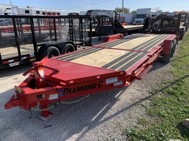 2021 Diamond C HDT 22' Tilt-Bed Equipment Trailer 8 Ton