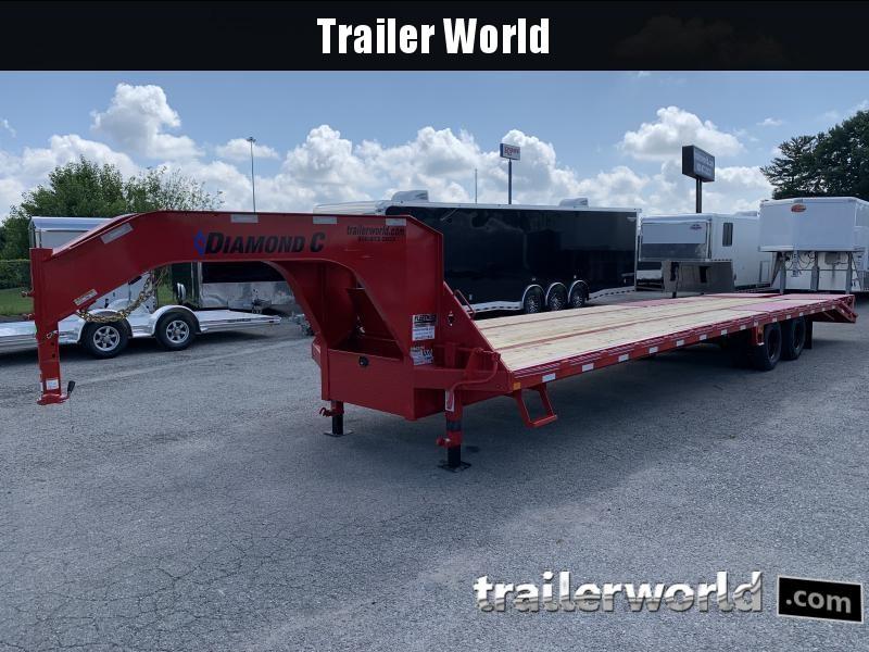 2020 Diamond C FMAX210 35' 30+5  Flatbed Gooseneck Trailer 25k GVWR