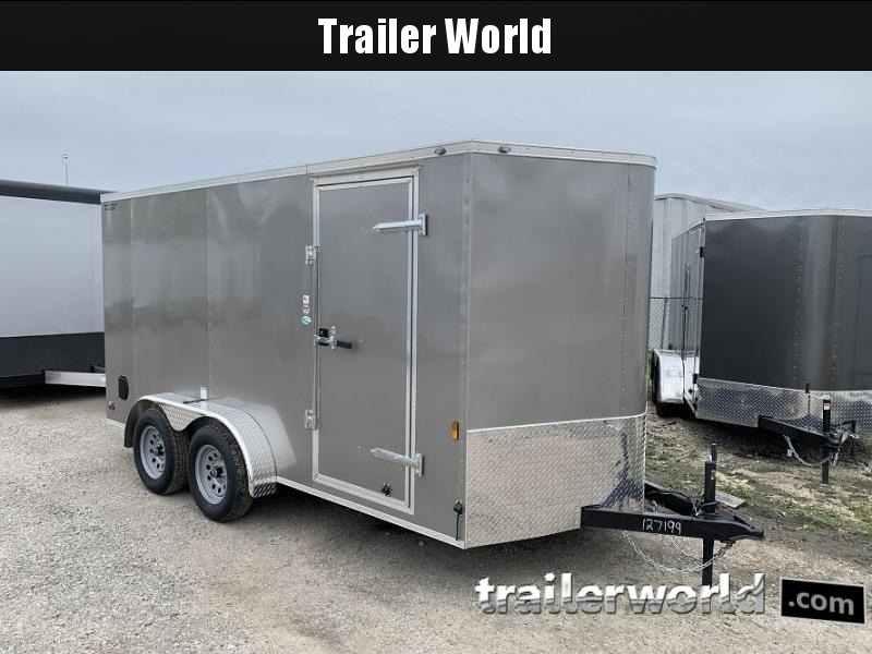 2020 Continental Cargo 7' x 14' x 6.3' Vnose Enclosed Cargo Trailer