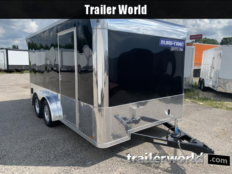 2021 Sure-Trac Moto Pro 7.5 x 14 Enclosed Cargo Trailer