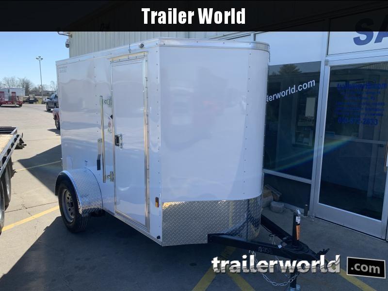 2022 Continental Cargo 5' x 8'  V nose Enclosed Cargo Trailer