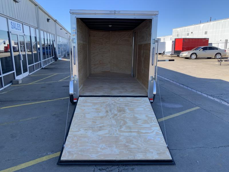 2021 Lark 6' x 12'TA Vnose Ramp Door Trailer