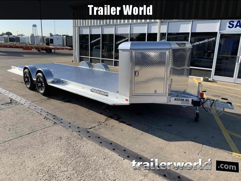 2021 Aluma Executive Series 8222H XL 22 Aluminum Open Car Trailer