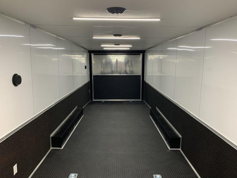 2021 Continental Cargo 30' Race Trailer