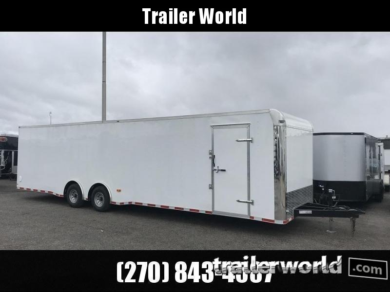 2021 Lark 34' Spread Axle Enclosed 2 Car Hauler Trailer