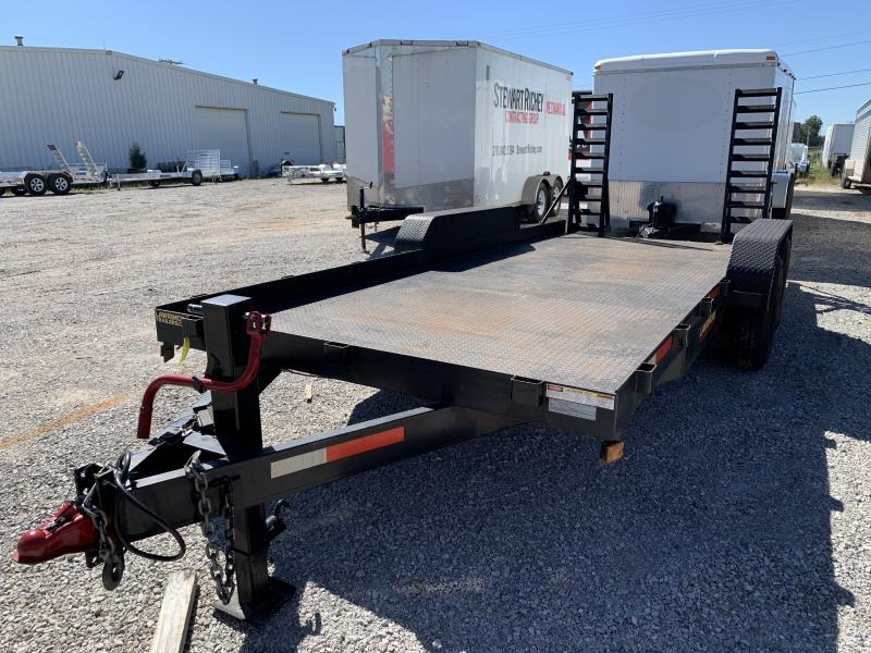 2018 Lawrimore 83X18B4 Equipment Trailer
