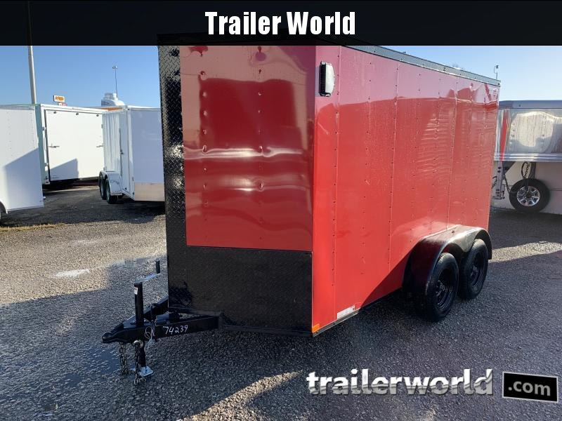 2021 Lark 6' X 12' TA Enclosed Cargo Trailer
