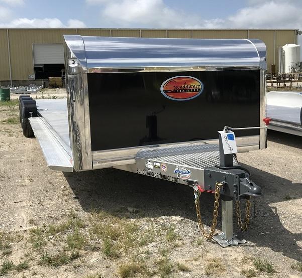 2021 Sundowner 35' Open Aluminum 2 Car Hauler Trailer