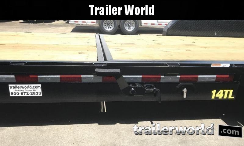 2020 Big Tex 14TL-20' 16' Tilt + 4' Equipment Trailers