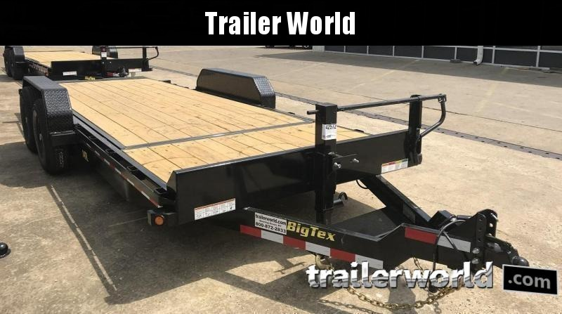 2020 Big Tex 14TL-20' 16' Tilt + 4' Equipment Trailers