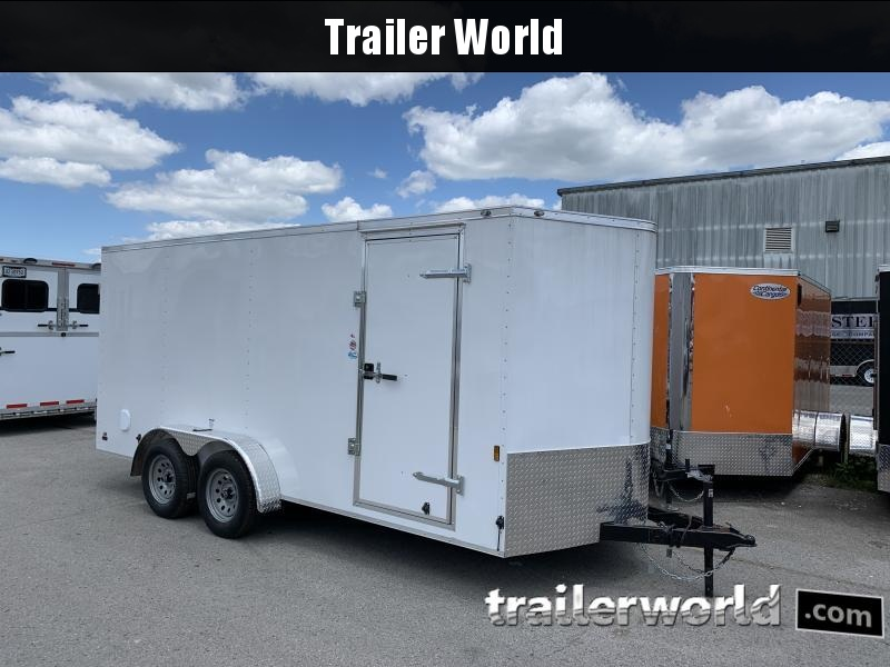 2020 Continental Cargo 7' x 16' x 6.3' Vnose Enclosed Cargo Trailer