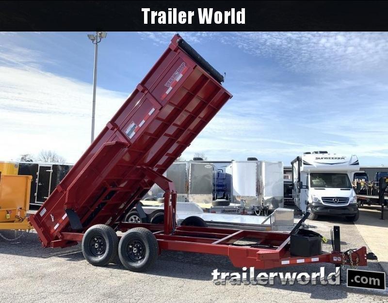 2021 Midsota HV-14' Commercial Grade Dump Trailer 15400 GVWR