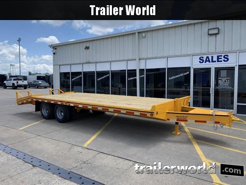 2021 Better Built 20' + 5'  10 Ton Pintle Hitch Equipment Trailer