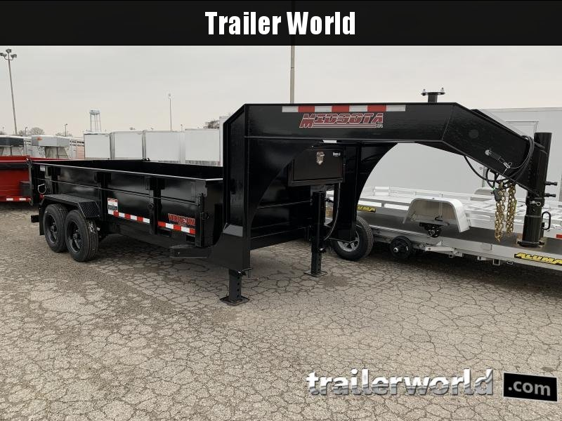 2021 Midsota HV-16GN Dump Trailer 17600 GVWR