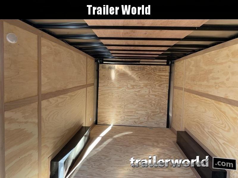 2021 Continental 20' V Enclosed Car Trailer