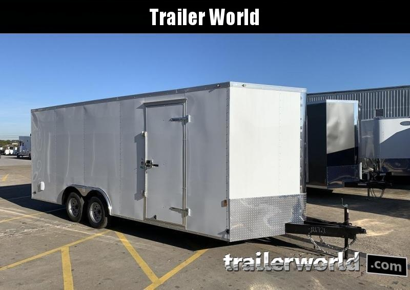 2021 Continental 20 V Enclosed Car Trailer