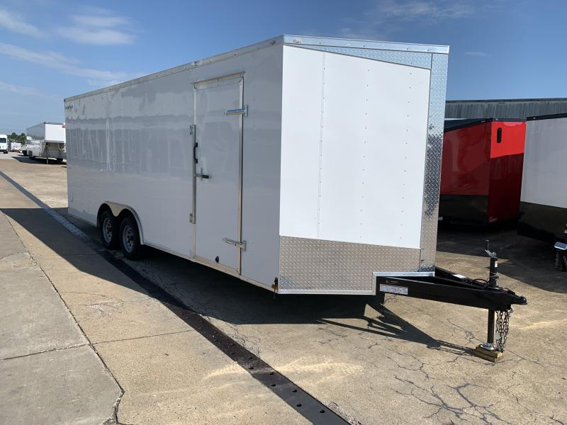 2021 Lark 8.5' x 22' x 7' Enclosed Cargo Ramp Door